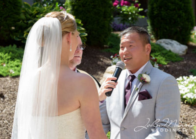 Groom's Exchanging of Vows