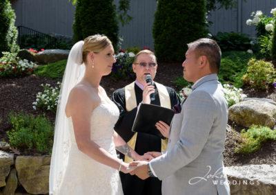 Priest in Wedding Ceremony