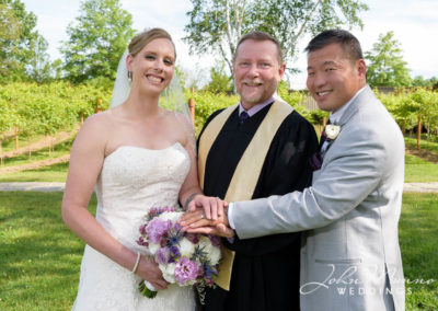 Married Couple with Priest