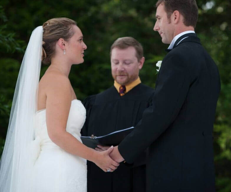 Wedding Ceremony in Southern New England